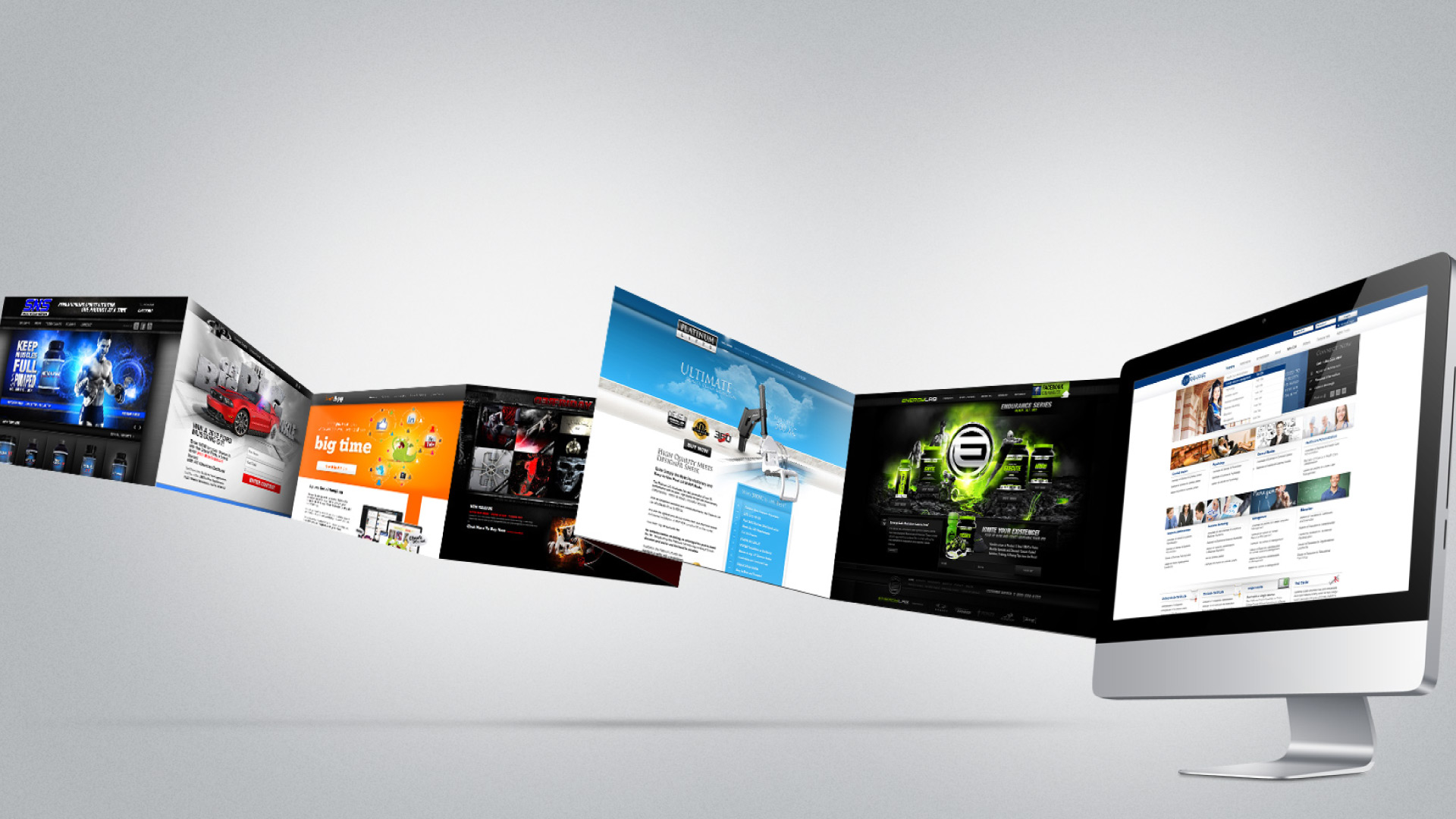 Improve your service online with the services of website design Birmingham