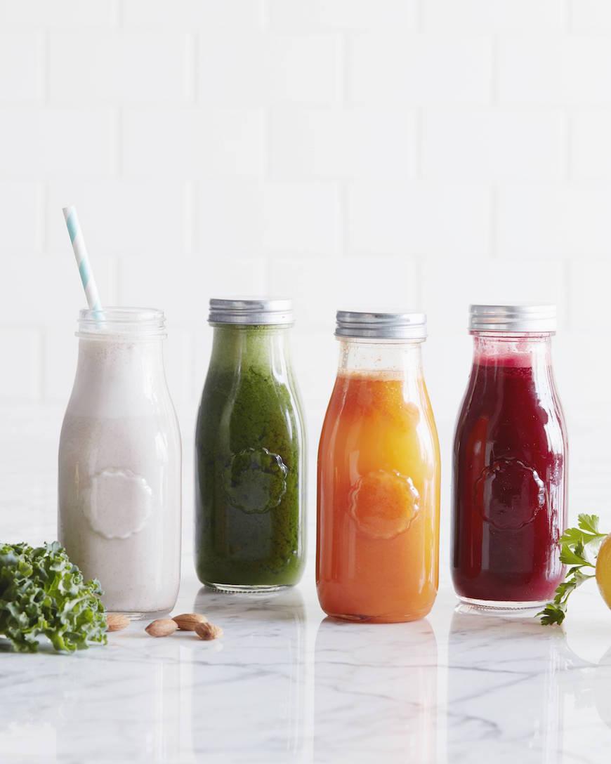 Ingredients Of Organic Smoothies