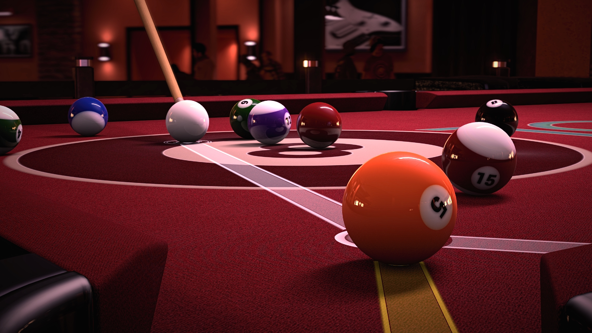 Online Features Of Pool Table Felt