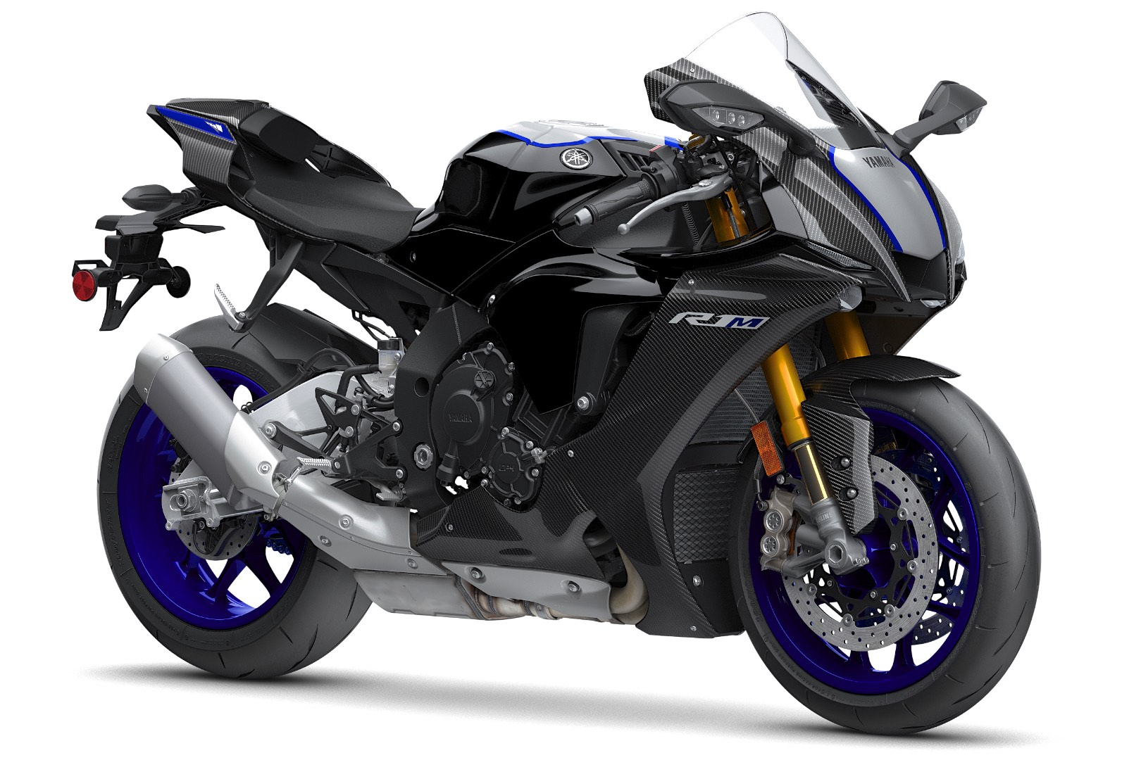 The power of the yamaha r1 carbon fiber