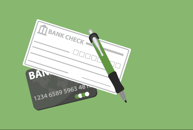 To sign the Digital checks you must first insert the electronic checkbook