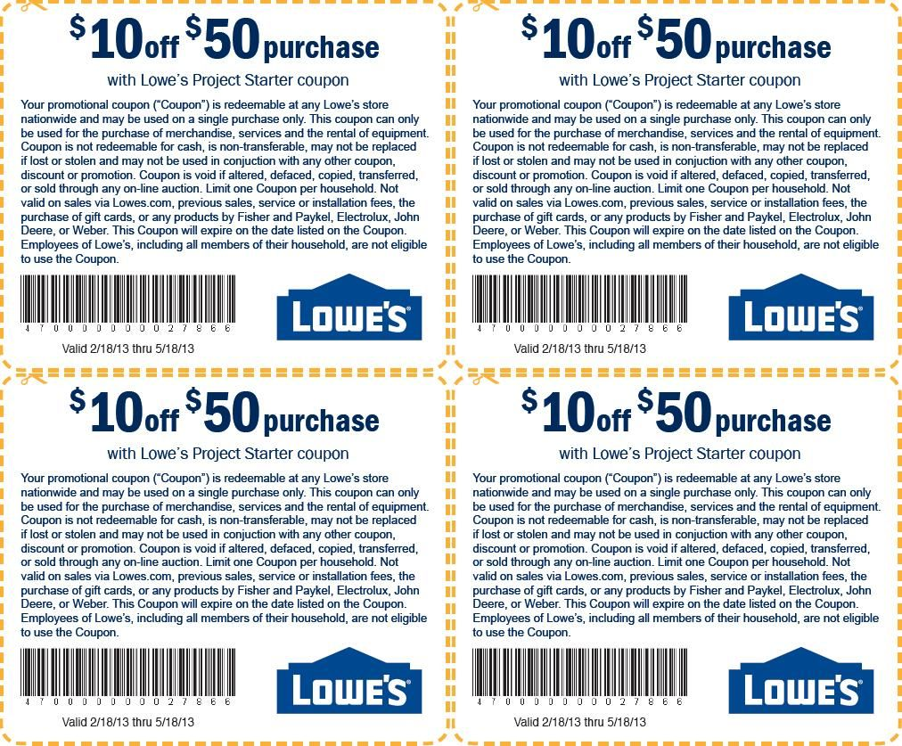 Nowadays, the most feasible way to have discounts is the lowes coupon code