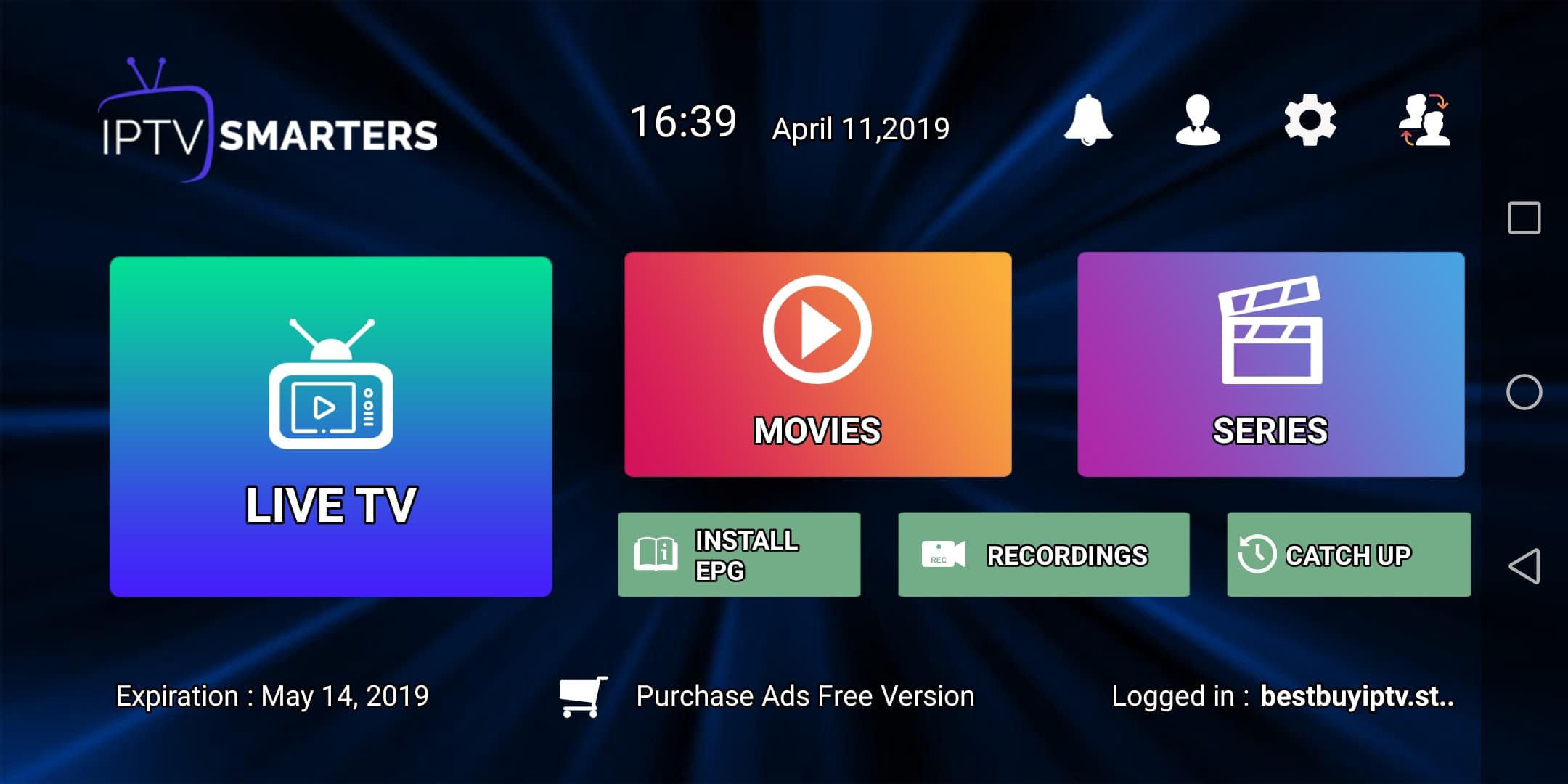 How easy is it to start an IPTV subscription for your smart tv?
