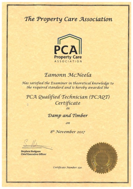 The PCA certificate to serve patients and older adults